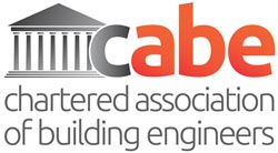 Chartered Association of Building Engineers logo