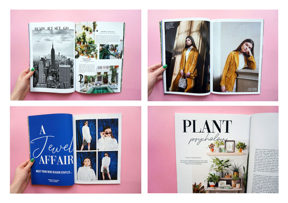 Group magazine by Amy Cameron, Sophie Dickinson, Katie Greenwood, Charlotte Rollin and Laura Townsend