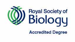 Royal Society of Biology Accreditation logo